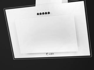 Обзор наклонной кухонной вытяжки Lex Mika GS 600 WH