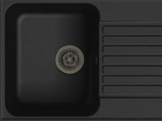 Оборачиваемая кухонная мойка Lex Geneva 740 Black – обзор