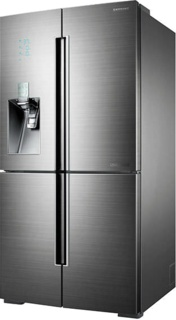 Стильные холодильники Lex цвета нержавеющей стали